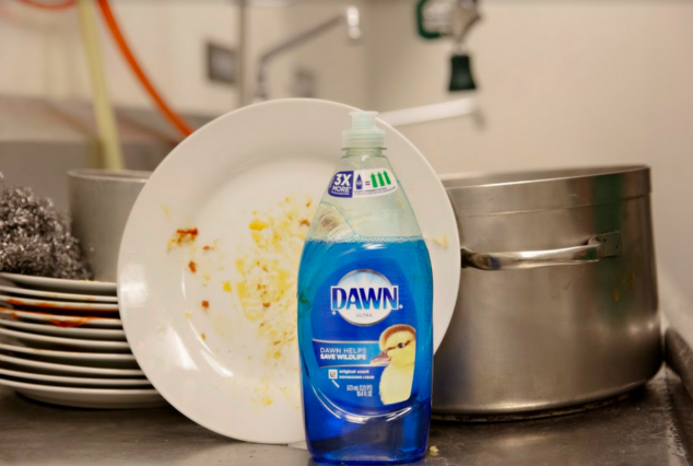 Step Up To The Sink with Dawn