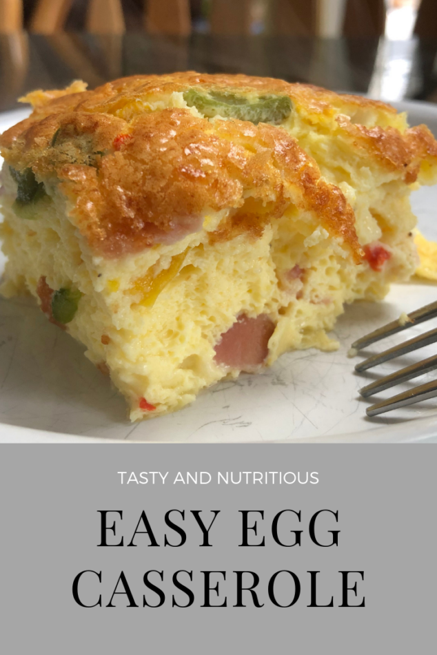 Easy Egg Casserole Recipe - the easiest you will find anywhere!