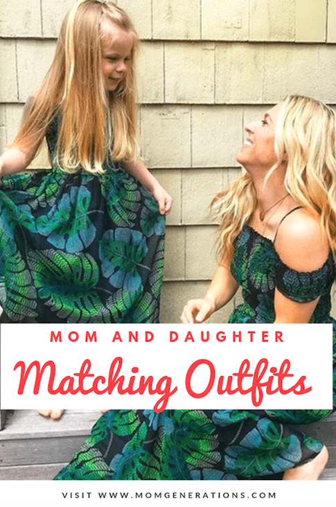 Mom and Daughter Matching Outfits