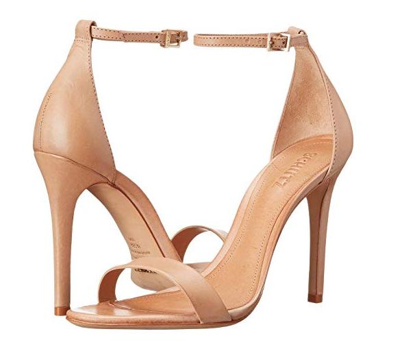 Nude Strappy Heels