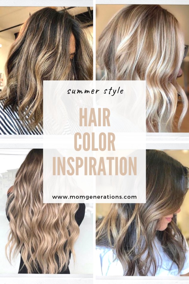 Summer Hair Color Inspiration