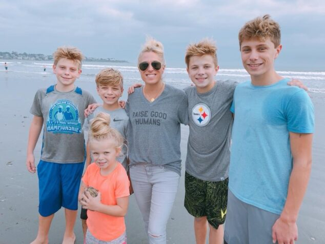Audrey McClelland and Family