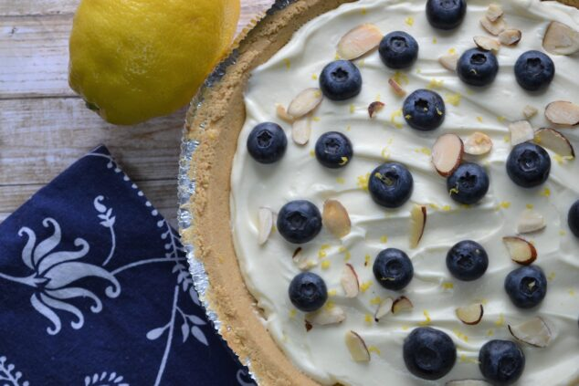 No Bake Lemon Mascarpone Pie