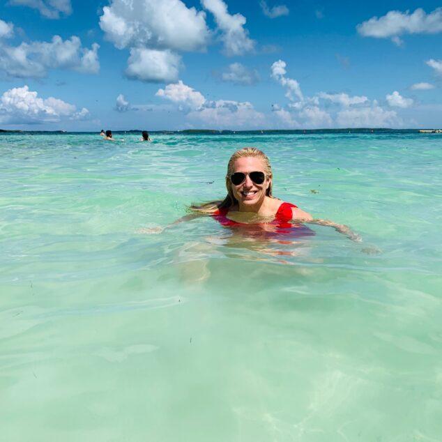 Audrey McClelland in Bathing Suit