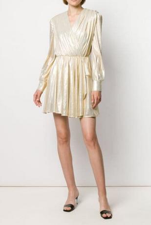 SHort Gold Dresses