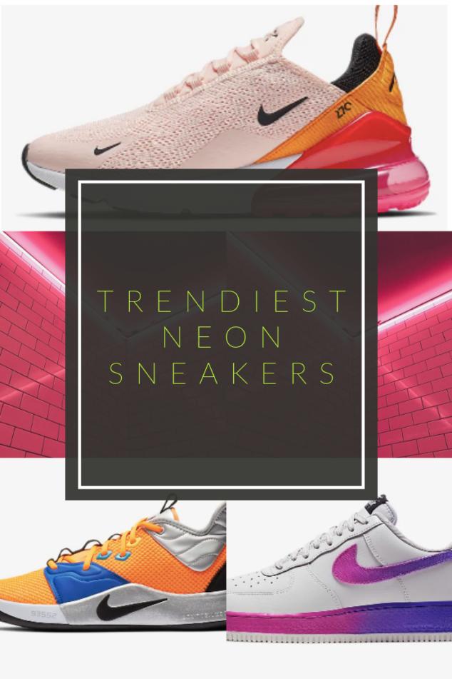 Neon Sneakers