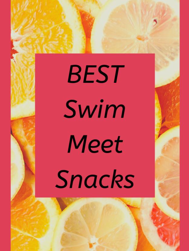 Swim Meet Snacks