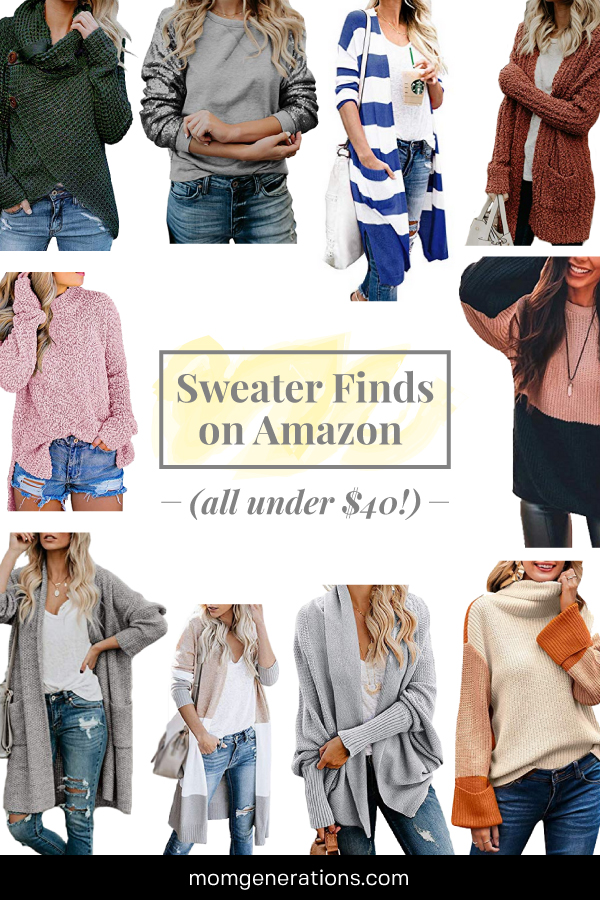Cheap Sweaters on Amazon for under $40