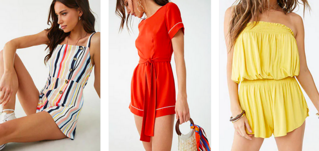 Forever 21 Rompers