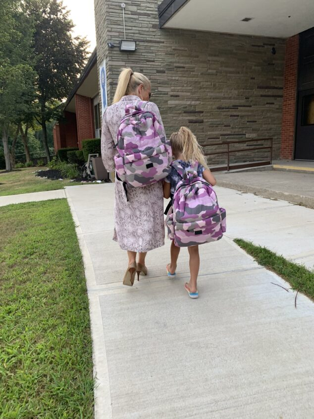 Backpack for School: Heading to 1st Grade