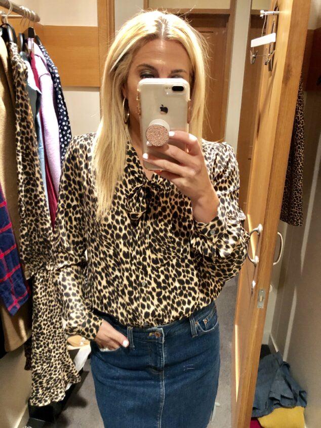 Leopard Blouse at J.Crew Factory