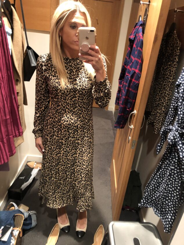 Leopard Dress J.Crew Factory