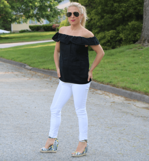 off the shoulder styles