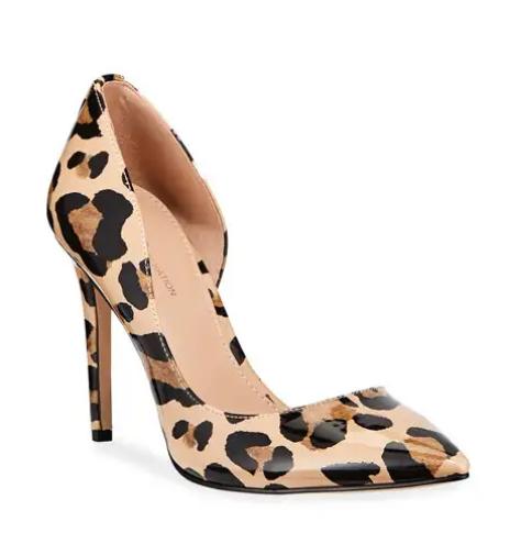Leopard Print Heel - Fall Fashion