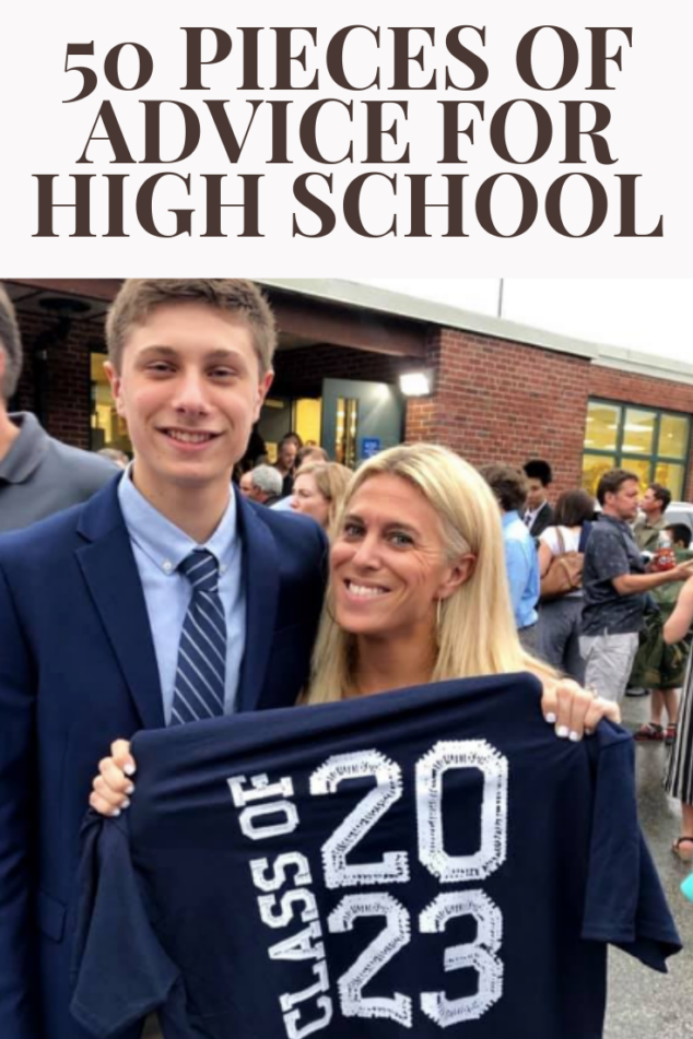 50 Pieces of Advice for High School