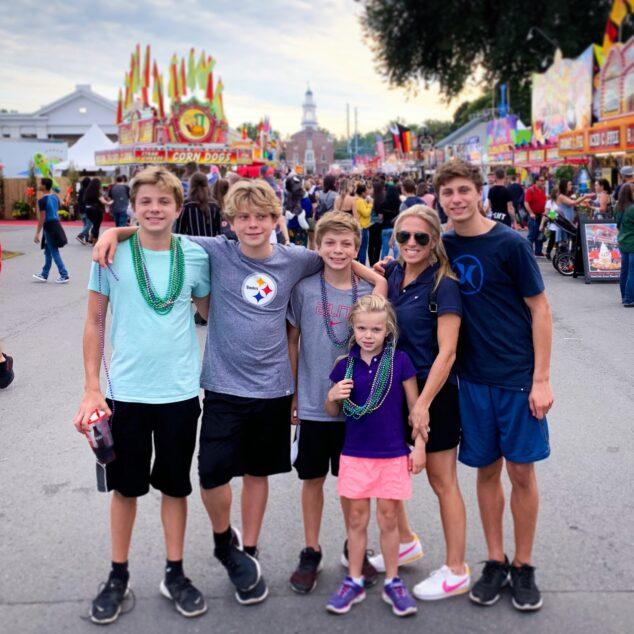 The McClelland Family at The Big E