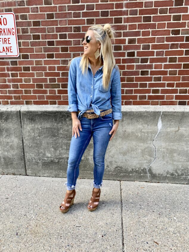 How to Style a Denim Shirt