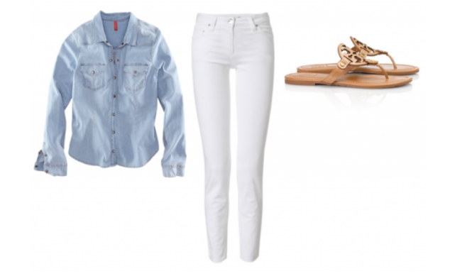 What to Wear with a Denim Shirt