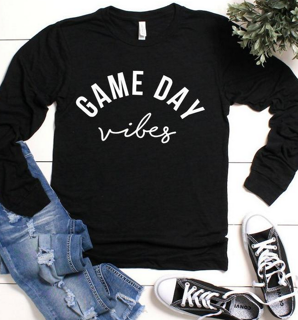 Get ready for game day with this super soft, stretchy and comfortable shirt! You will love it too!