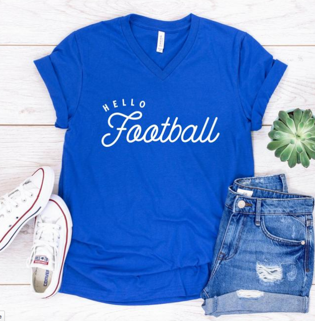 This unisex vneck tee is super soft and cut for a desirable look. This tee will quickly become your favorite. Perfect for joggers, the gym and really anything!