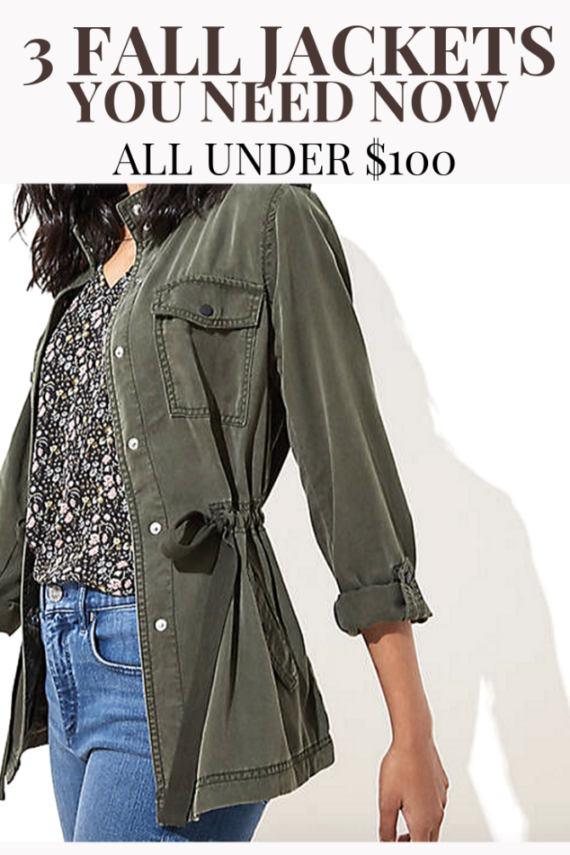 Autumn Jacket Options: 3 Not To Miss