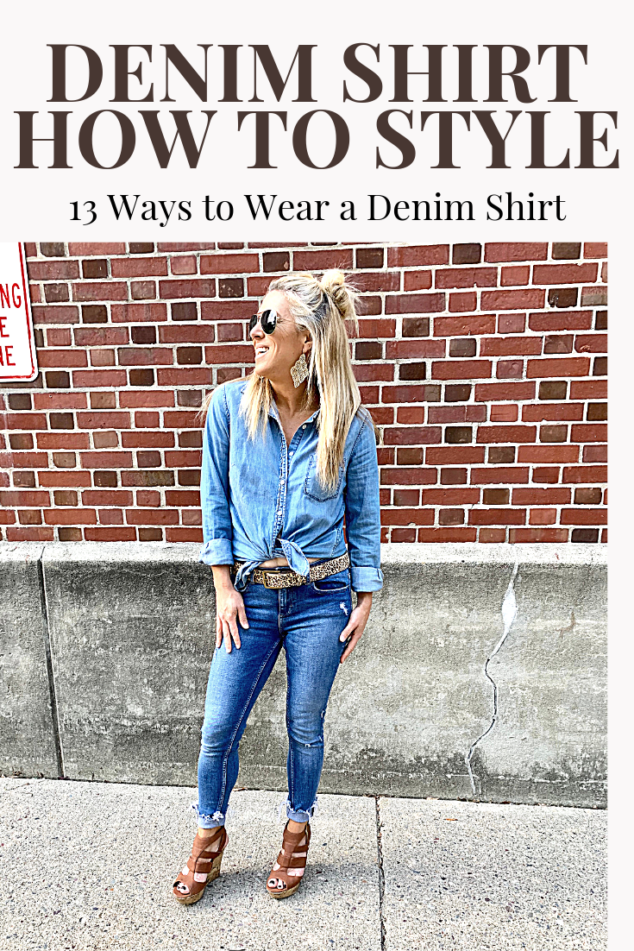 How to Style Denim Shirt