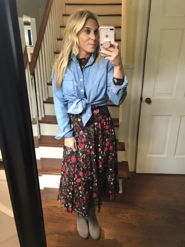 how to style a dress