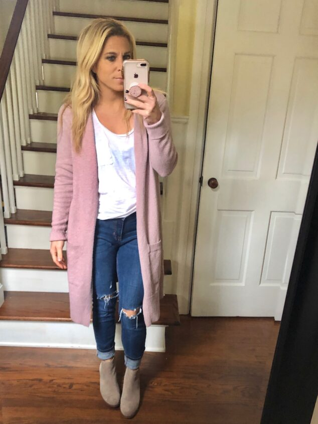 Pink Sweater Cardigan - Style Cardigan Sweaters 5 Different Ways