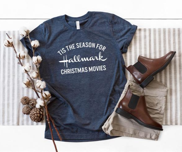 Tis The Season Hallmark Christmas Movies T-shirt, Hallmark Christmas T-shirt,