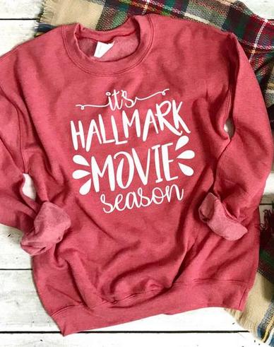 Hallmark Movie Watching Sweater - HAllmark Movie Shirt
