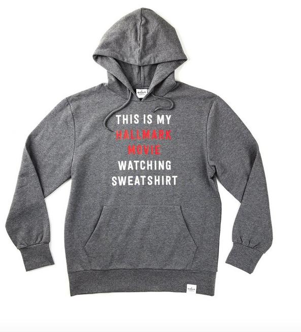 Hallmark Movie Watching Sweatshirt