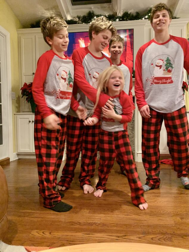 Matching Family Pajamas for the Holidays
