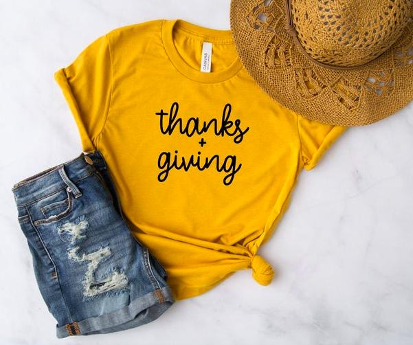 Thankful Shirt - Thankful grateful blessed shirt - Thanksgiving shirt women - Womens Fall Tee - Womens Fall Shirt - Fall Shirt Women