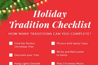 Holiday Tradition Checklist