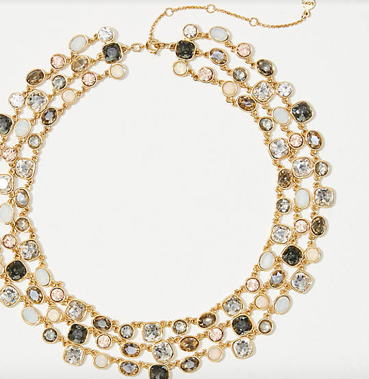 Tinsel Statement Necklace