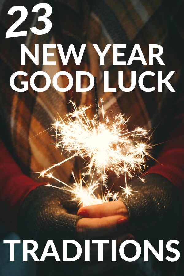New Year Good Luck Traditions