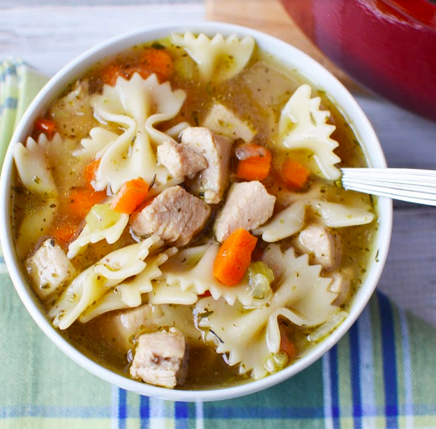 Easiest Homemade Chicken Noodle Soup
