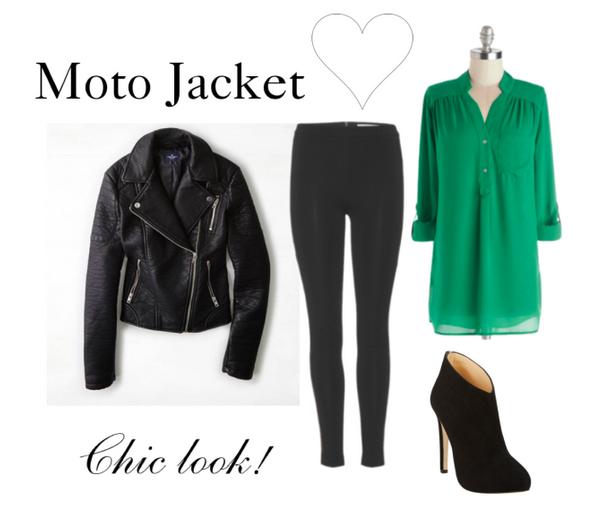 Moto Jacket - Ways to Wear