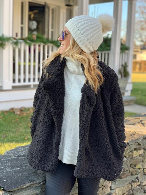 How to Wear Sherpa Fleece