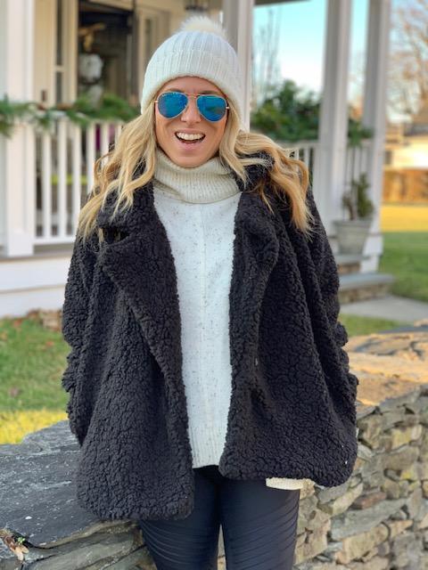 How to Wear Sherpa Fleece jacket