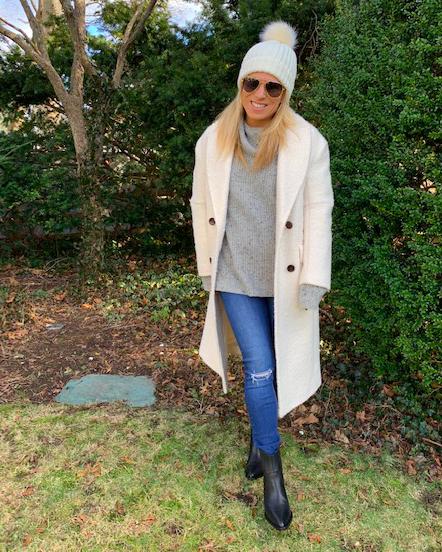 Winter White Coat - Fashion for the Winter