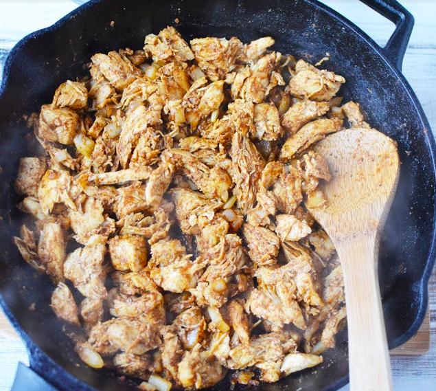 Taco Casserole with Chicken