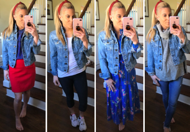 Petite Denim Jacket - 5 Styles to Wear