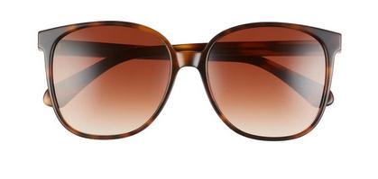 Alianna 56mm Rounded Cat Eye Sunglasses