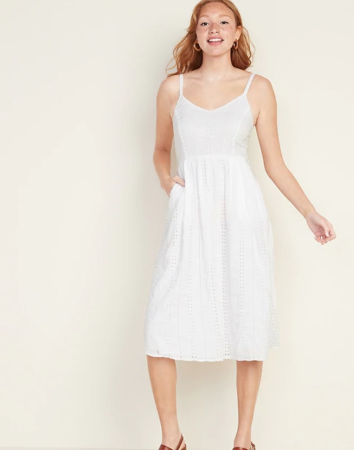 Summer Casual White Dress