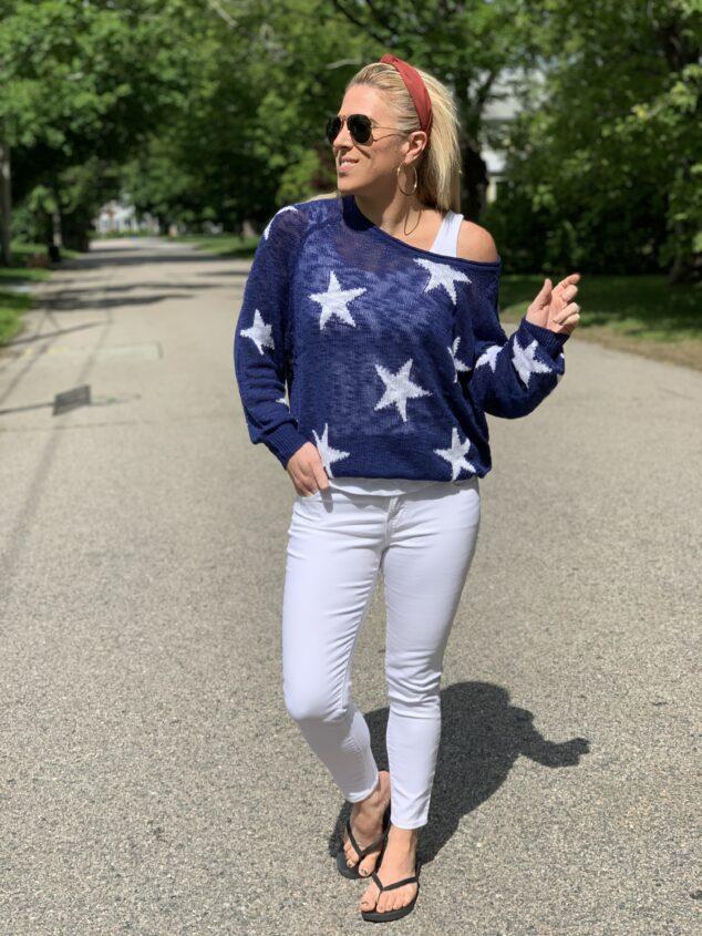 Star Sweater - Summer Sweater Option