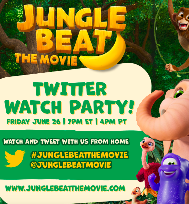 Jungle Beat The Movie   Twitter Watch Party