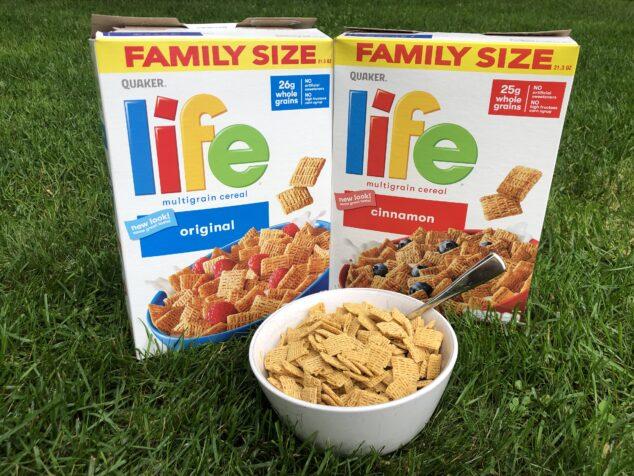 LIFE Cereal breakfast