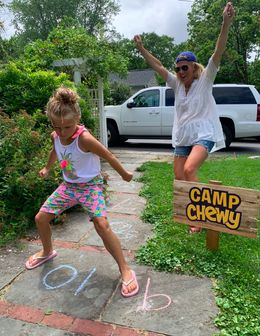 SUMMER CAMP ACTIVITIES AT HOME - CAMP CHEWY
