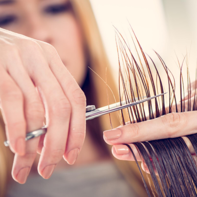 How to cut hair at home